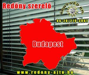 Redőny szerelő Budapest